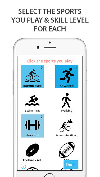 Teamster - Play sport with nearby sportmates
