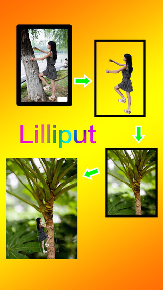Lilliput - for superimpose two image and make a crazy image.