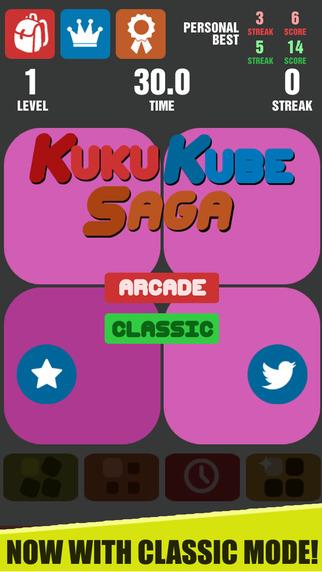 KuKu Kube Saga - A Simple Vision Challenge Game