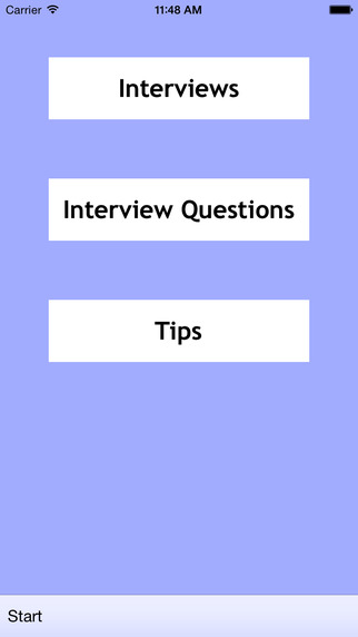 Job Interview Help