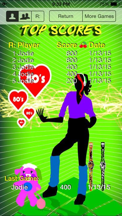 80's Pop Quiz iPhone Screenshot 5