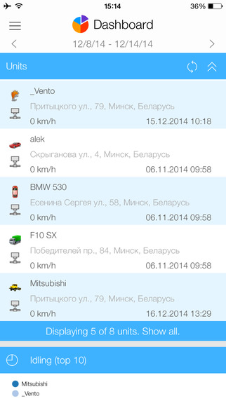 免費交通運輸App|Dashboard for Wialon|阿達玩APP