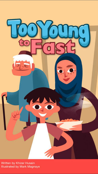 Too Young To Fast: A FarFaria Kids Story-Book