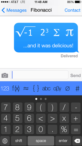 The Math Keyboard - 数学键盘[iOS]丨反斗限免
