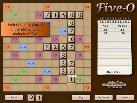 Five-O iPad Screenshot 2