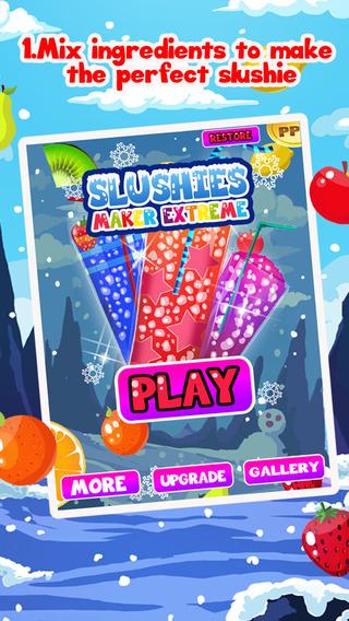 Slushie Maker Mania eXtreme - Make Slushies and Juicy Desserts For Free
