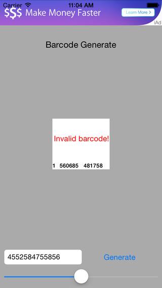 Barcode EAN Generate
