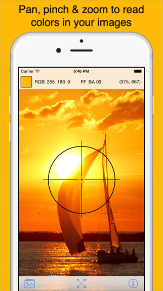 Pixel Picker - Image Color Picker for iOS 8