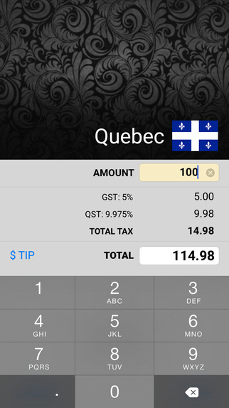 【免費財經App】Canadian Sales Tax Calculator-APP點子