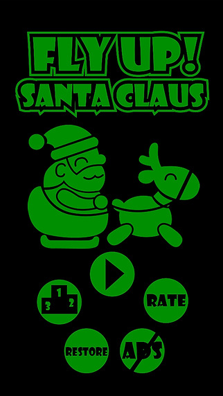 Fly Up Santa Claus - It's Flap Swing Time On Chris