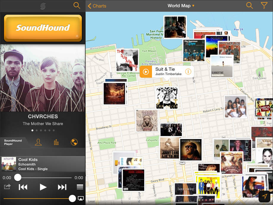 SoundHound - iPhone Mobile Analytics and App Store Data