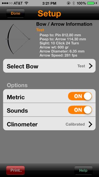 Archer's Mark iPhone Screenshot 2