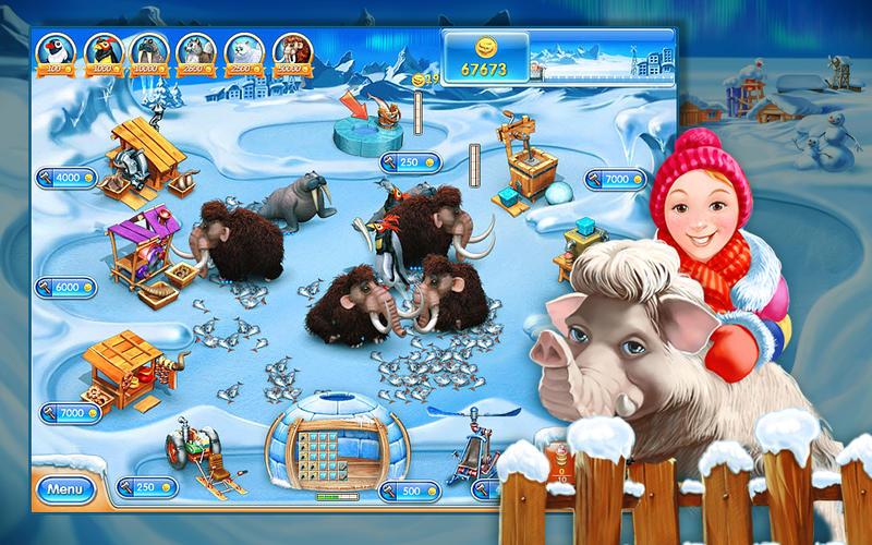 疯狂农场3:冰封世界 for Mac