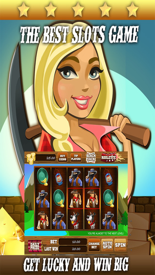 AAA Gold Mine Slots - 777 Free Casino Slot Machine Games