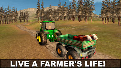 Farming Tractor Driver 3D screenshot 4