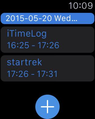 iTimeLog iPhone Screenshot 4