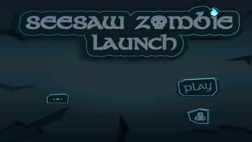 Seesaw Zombie Launch: Teeter Totter Zomby Flinger