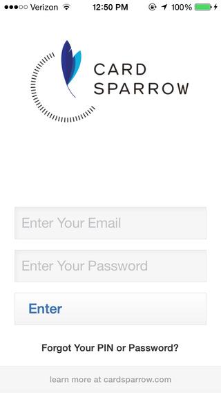 Card Sparrow
