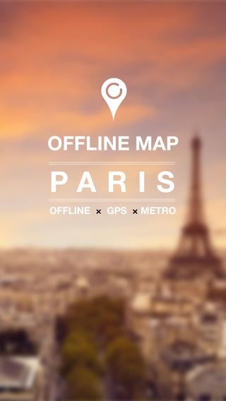 Paris Offline Map Metro Subway and offline GPS
