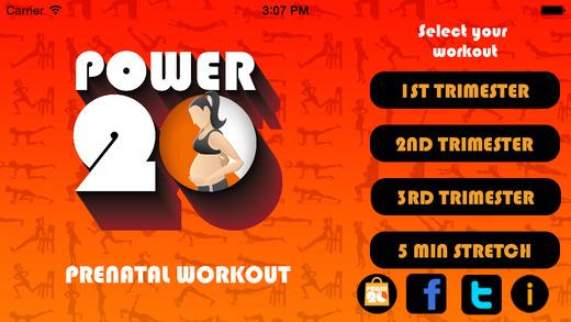 Pregnancy Workout - 20 Minute Prenatal Exercise Routines