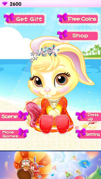 Cute Rabbit-Game for girls