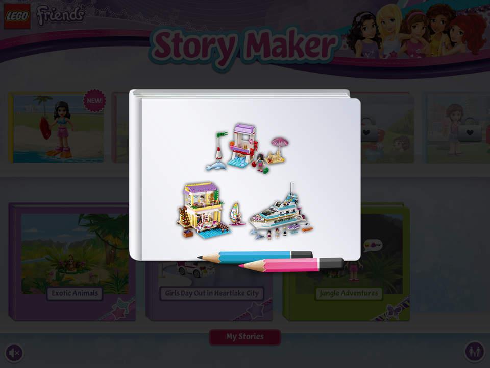 Lego Friends Story Maker Apprecs