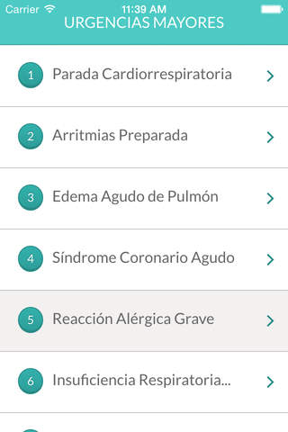 Urgencias Mayores screenshot 2