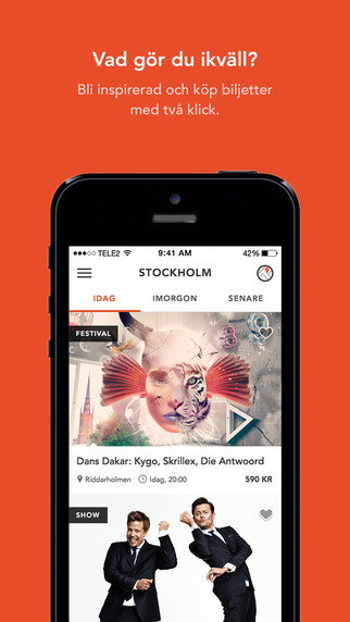 Spontano - Upptäck Stockholm ikväll