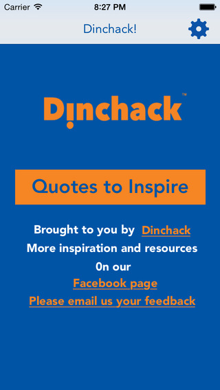 Dinchack: Quotes to Inspire
