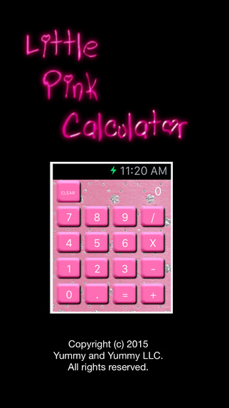 Little Pink Calculator