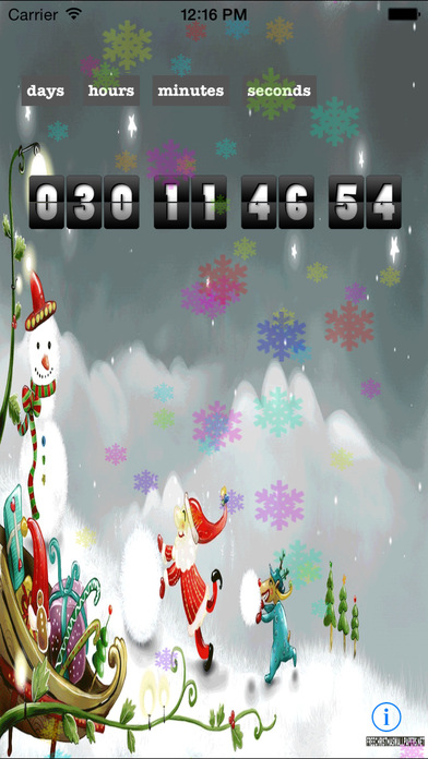 Christmas Countdown Extreme Edition - The Best Countdown App Santa Approved-1