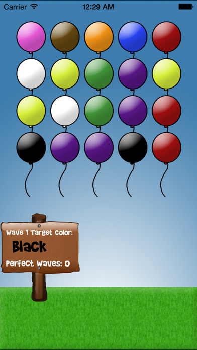 Balloons: Tap and Learn iPhone Screenshot 3
