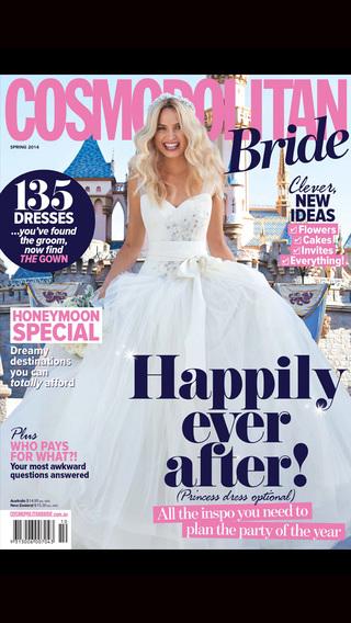 Cosmopolitan Bride Magazine Australia