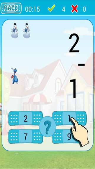Kids Math Game for Doc McStuffins Version