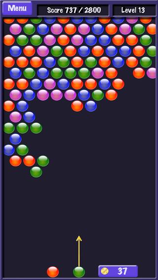 Bubble Shooter! iPhone Screenshot 1