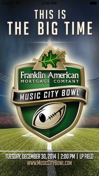 Franklin American Mortgage Music City Bowl