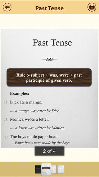 Grammar Express: Active & Passive Voice iPhone Screenshot 2