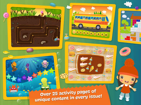 Boombons: play kids magazine - fun interactive educational games for children