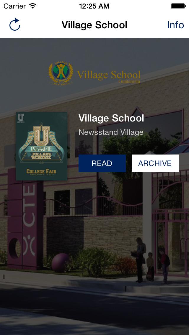 Village School Newsstand