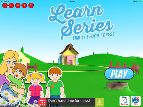 Learn Family Food and Dress