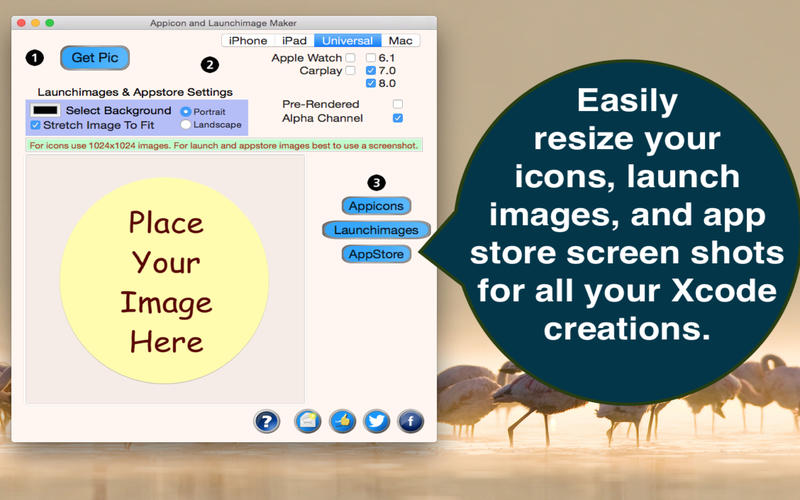 Appicon and Launchimage Maker Lite Screenshot - 1