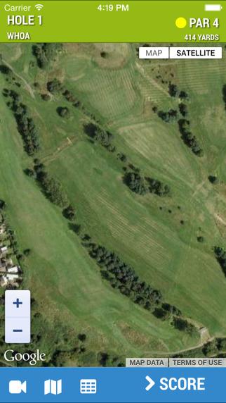 Trentham Park - AerialGolfCaddy