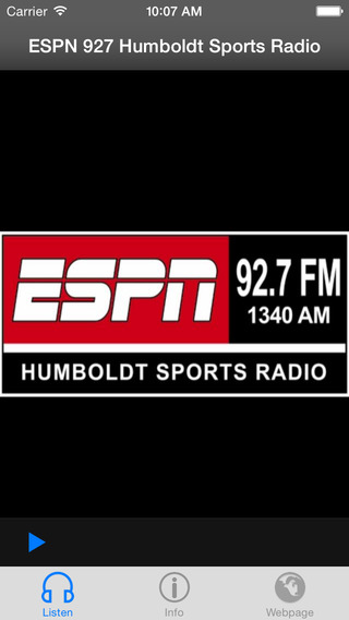 ESPN 927 Humboldt Sports RadioReturn to list