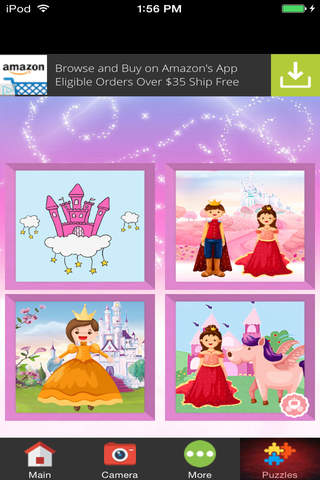 Princess Fairytale Photo Montage screenshot 2