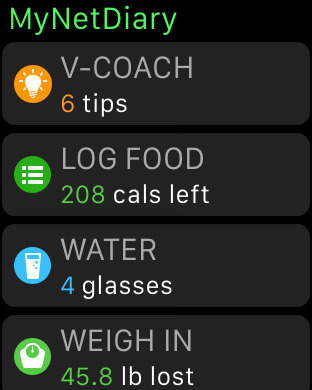 MyNetDiary PRO - Calorie Counter and Food Diary Screenshots