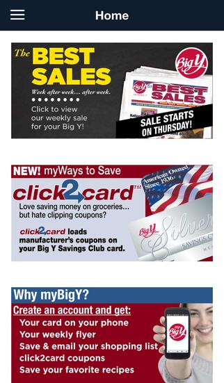 myBigY - Big Y World Class Markets