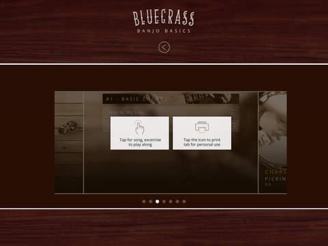 Bluegrass Banjo Basics iPad Screenshot 4