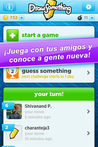 Draw Something Classic screenshot 2