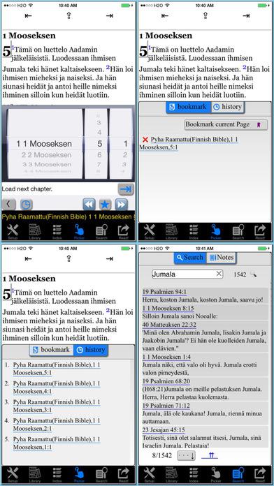 Pyha Raamattu(Finnish Bible) iPhone Screenshot 5