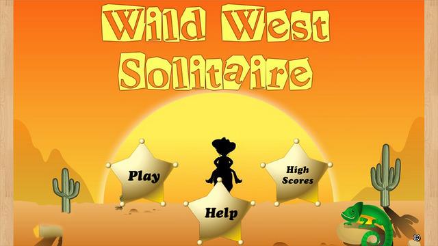Wild West Solitaire Saga - Free